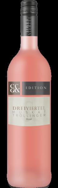 Dreiviertel Muskattrollinger Rosé Edition