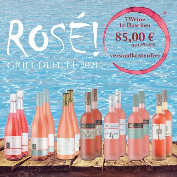 14er Paket - Das Rosé Grill-Defilee 2021